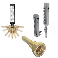 Thermometers Well Type