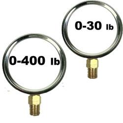 Pressure Gauges 4 1/2 Inch Dial